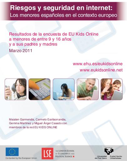 EU kids online - marzo 2011 - menores España
