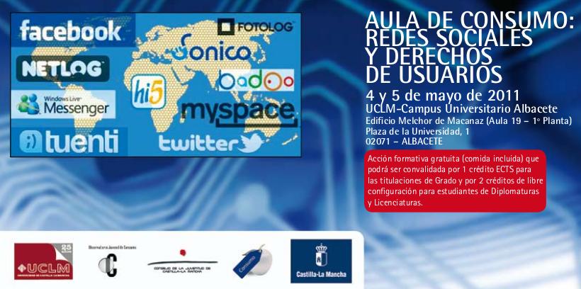 Aula de consumo - UCLM. Redes sociales y derechos de usuarios