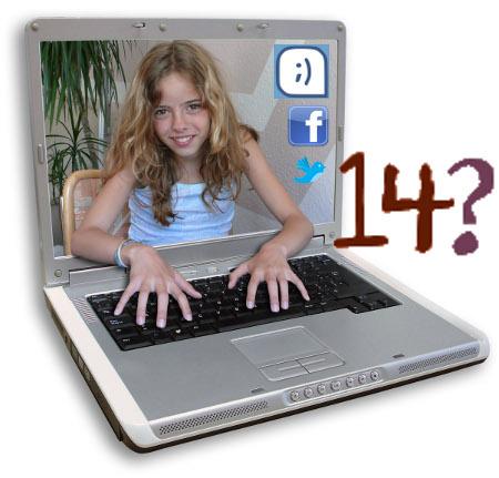 Los menores mienten sobre su edad para entrar en comunidades virtuales como Tuenti, Facebook, etc.