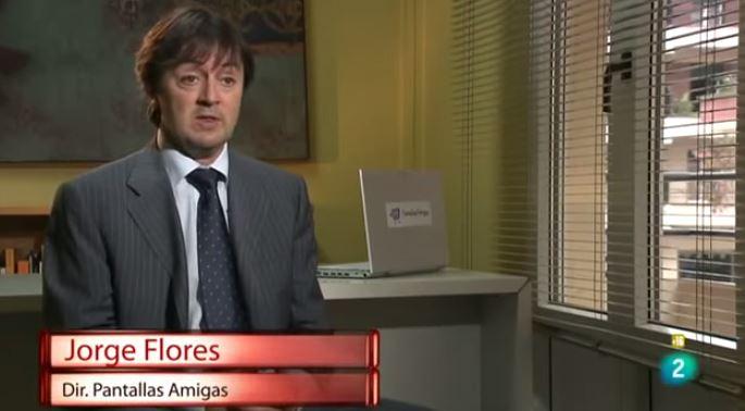 Jorge Flores, director de PantallasAmigas, Ojo con Tus Datos, Documentos TV