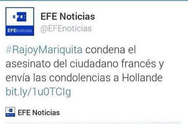 Agencia EFE- Tuitidio- etiqueta- rajoy- hashtag