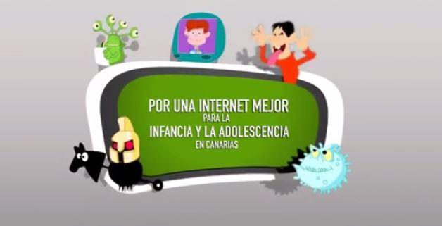 Por-una-Internet-Mejor-para-la-infancia-y-la-adolescencia-en-canarias-animaciones-menores-privacidad-pantallas-amigas
