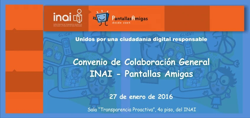 Convenio_colaboración_INAI_México_PantallasAmigas_Privacidad_Datos_Personales