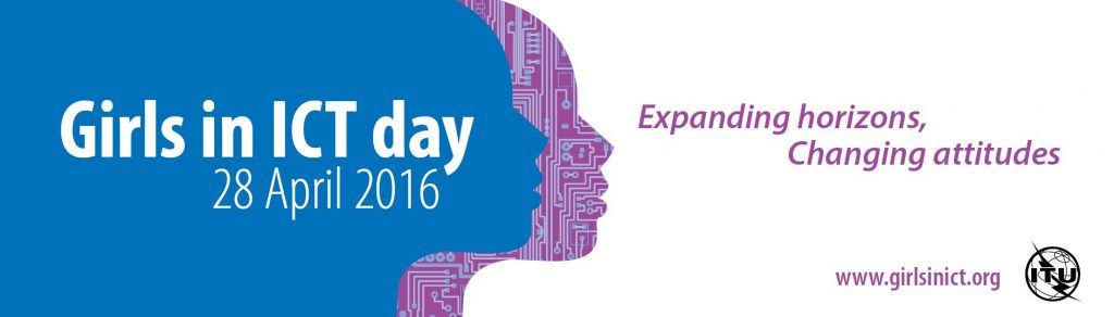 GirlsinICT day - Expanding horizons, changing attitudes