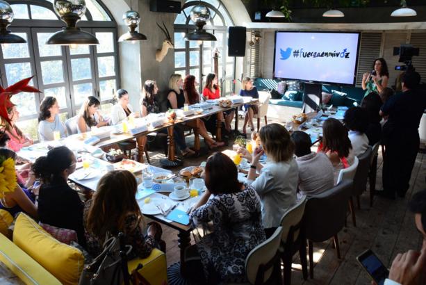Fotografía tomada por AIE Events durante la presentación de la iniciativa #fuerzaenmivoz