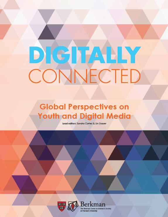 Digitally Connected_Global Perspectives on Youth and Digital Media_PantallasAmigas_Harvard_University
