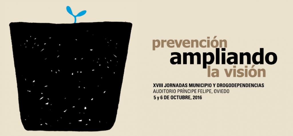Cartel Jornadas Municipio y Drogodependencias - Prevención ampliando la visión