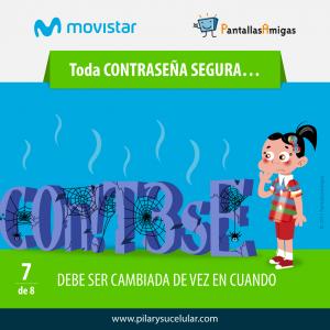 Movistar PantallasAmigas Clave contraseña segura 7